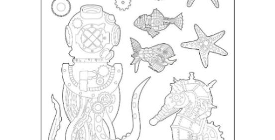 Stamperia Sea World