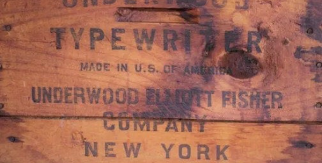 Underwood Crate