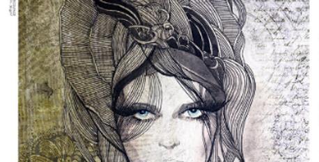 Illustrated Portrait #0100