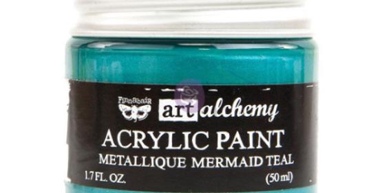 Metallic Mermaid Teal