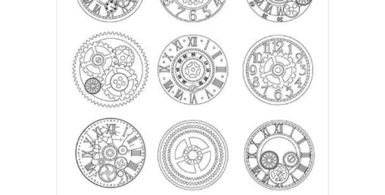 Stamperia Mechanisms Clocks and Gears