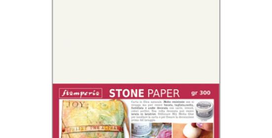 Stamperia Stone Paper