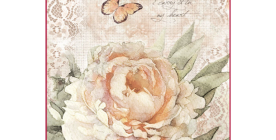 Vintage Rose and Lace