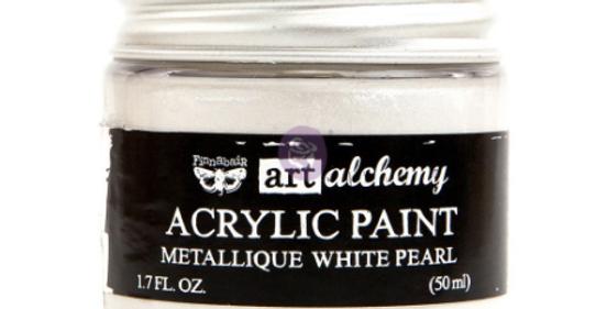 Metallic White Pearl