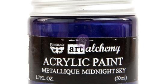 Metallic Midnight Sky