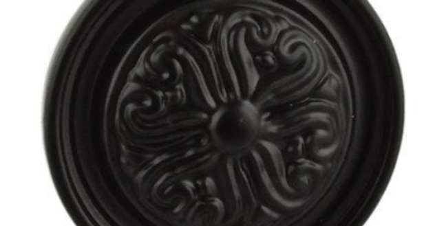 Baroque Scroll Knob
