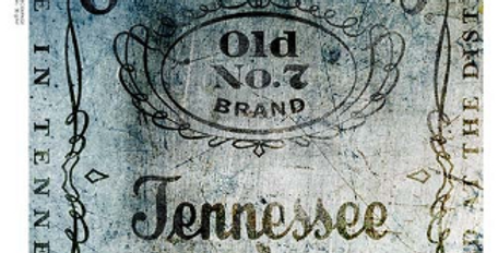 Blue Stained Jack Daniel's