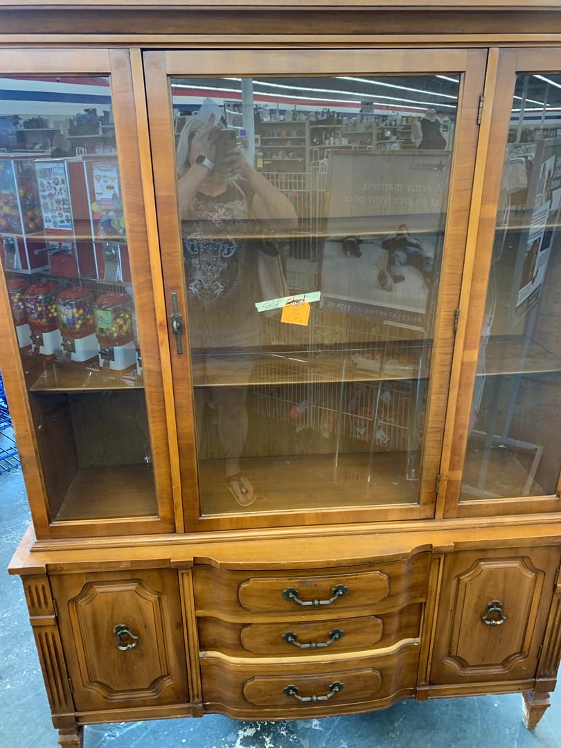 Vintage China Cabinet 1