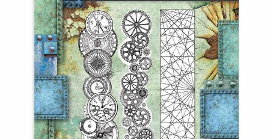 Sir Vagabond Borders, Clocks, and Gears