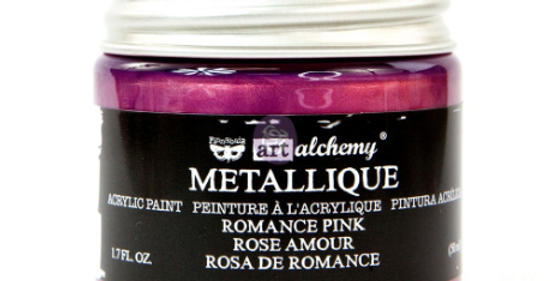 Metallic Romance Pink