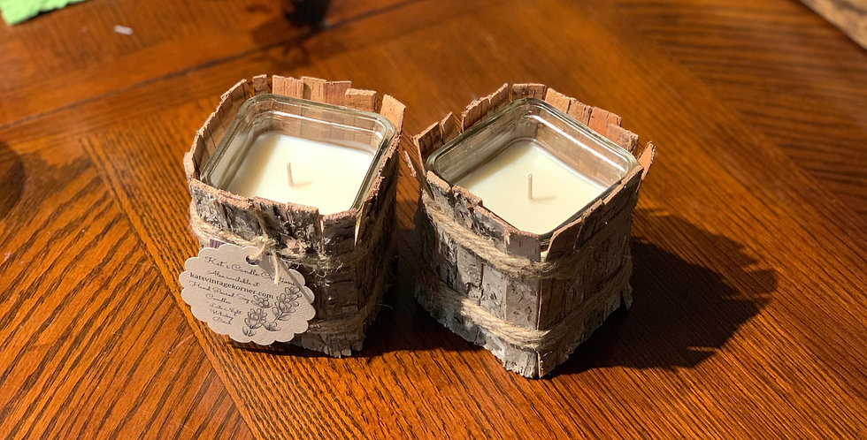 Birch Container Candles