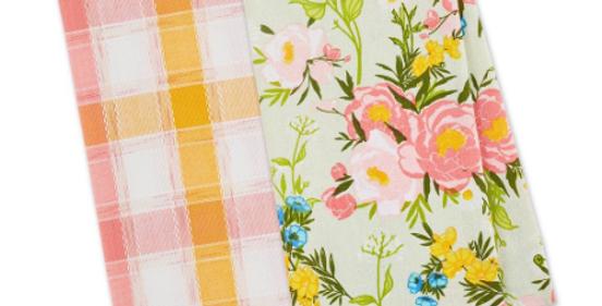 Spring Bouquet Dishtowel Set of 2