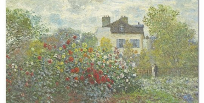Garden at Argenteuil by Monet