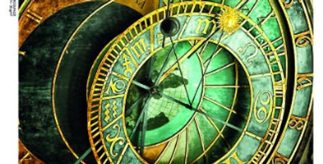 Steampunk clock #0023