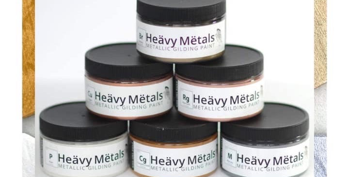 Set of All 6 Heavy Metal Paint