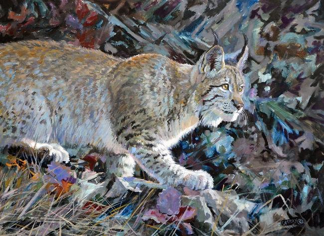 Lynx on alert-18x24oilRGB.jpg