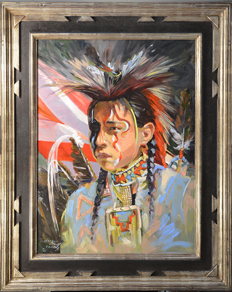 Young Blackfoot Dancer Study 24 x 18.jpg