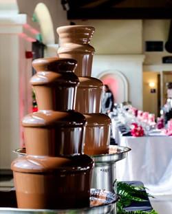 Fuentes de chocolate profesionales