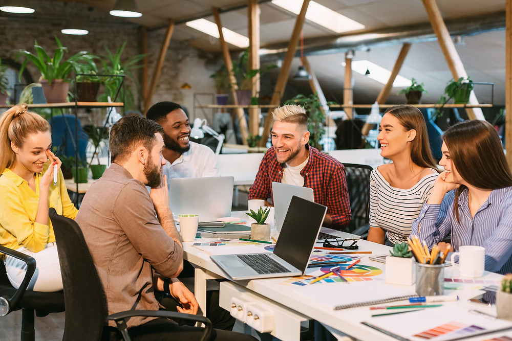 Talking and sharing each other are part of innovation culture
