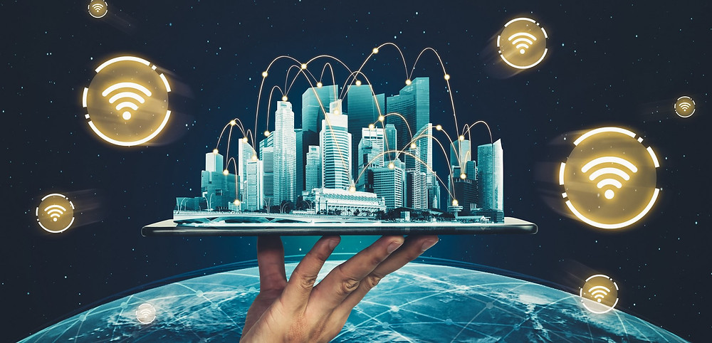 Building on the world with strong internet signal - entreprise wide  automation