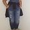 Thumbnail: Torrid overalls with distressed raw hem crop