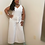 Thumbnail: H&M belted cream colored wide leg jumpsuit size 14, brand new with tags