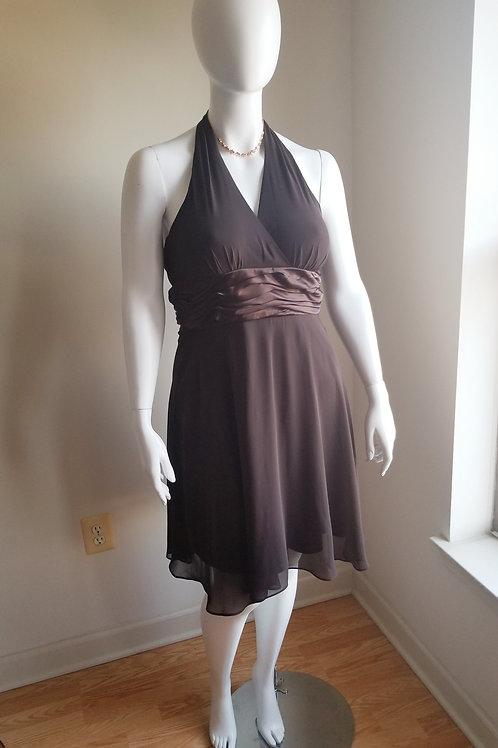 Chocolate Evening Dress by Scarlett sz 12