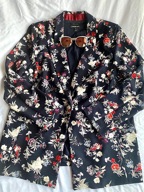 Floral blazer by Lane Bryant