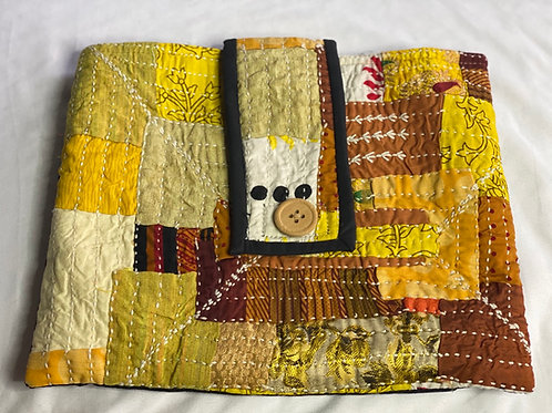 Quilted tapestry bag