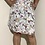 Thumbnail: Beautiful white belted floral dress size 2X