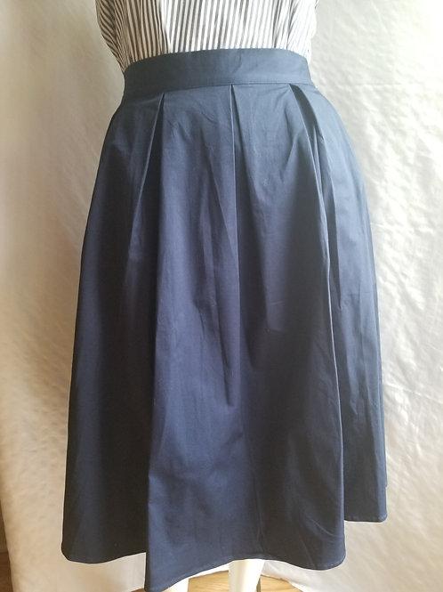Eloquii Blue Midi Skirt sz 18