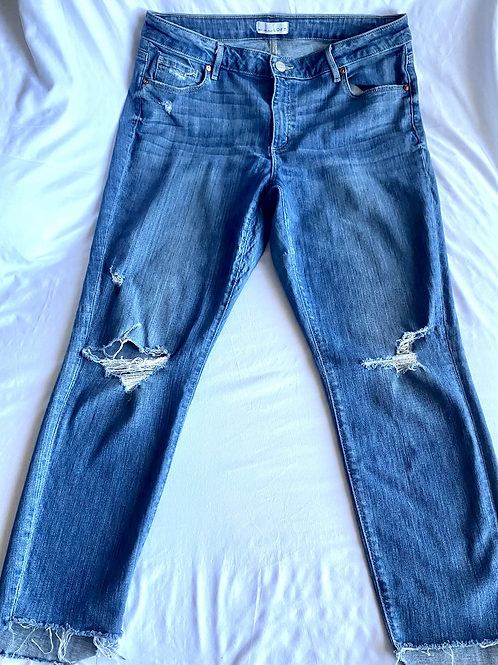 Ann Taylor distressed jeans size 14