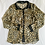 Thumbnail: Animal print sheer blouse by Forever 21