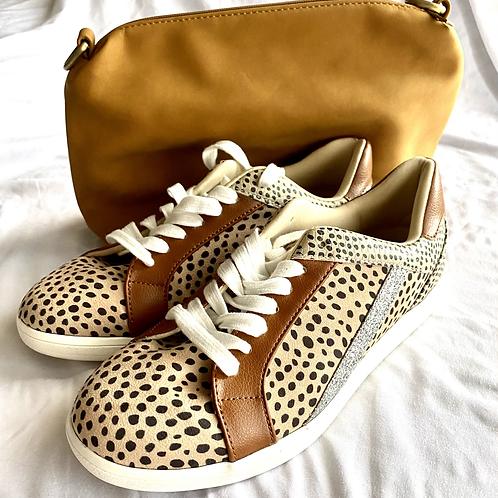 Torrid mixed media sneakers
