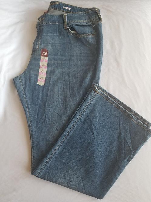 Arizona Boot cut Jeans, Jr. Plus sz 22