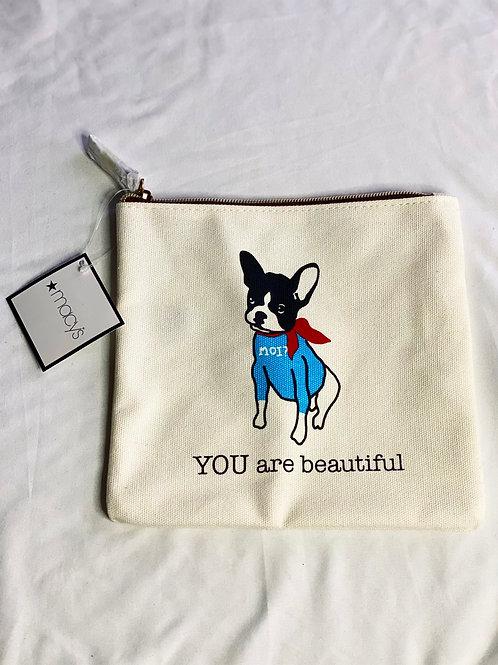 Macy's cosmetic bag