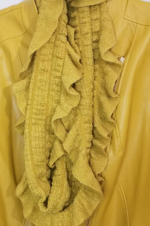 Brand new mustard color infinity scarf