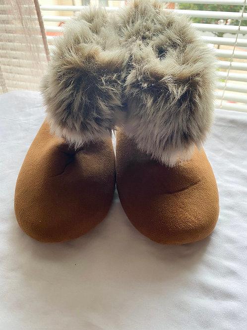 Dear foam fuzzy slippers
