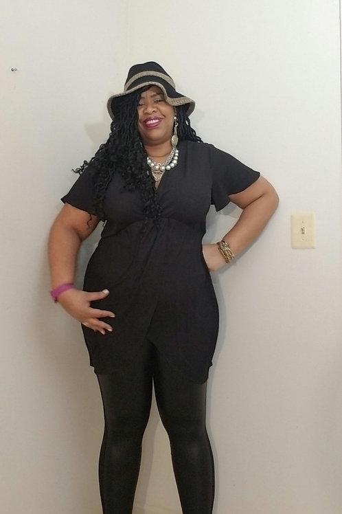 Black torrid short sleeve blouse sz 18/20