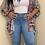 Thumbnail: Torrid light wash flare jeans size 20