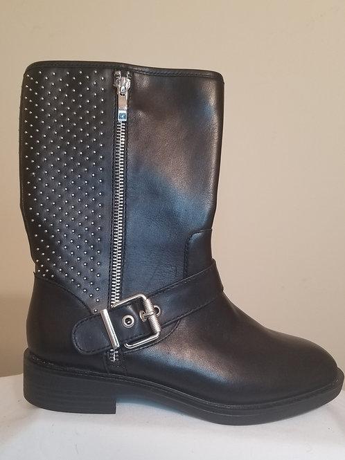 Steve Madden black studded boots sz 6.5