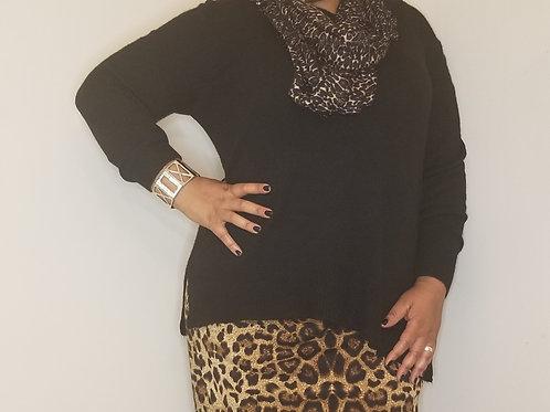 Black Lane Bryant super comfortable sweater sz 18/20