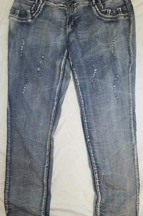 Roma diva 3 button jeans sz 19/20