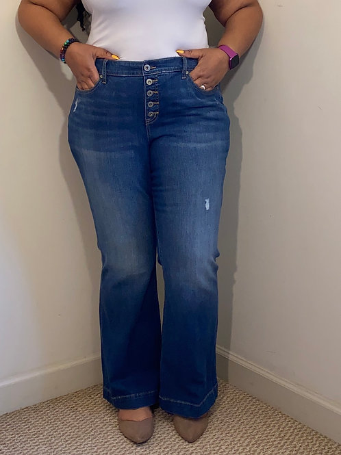 Brand new Torrid Jeans Mid-rise flare size 22