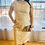 Thumbnail: Beautiful cream colored vegan leather dress by Prologue size Small