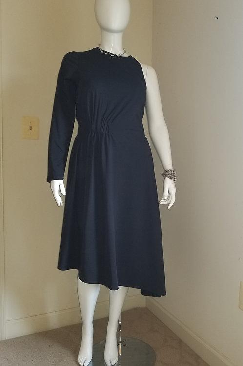 Lane Bryant One-Sleeve Asymetrical Maxi Dress 18/20