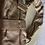 Thumbnail: Gorgeous metallic gold Coach shoulder bag (small)