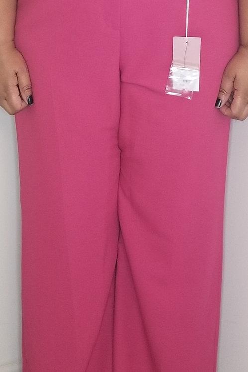 Pink wide leg pants by Lane Bryant sz 20
