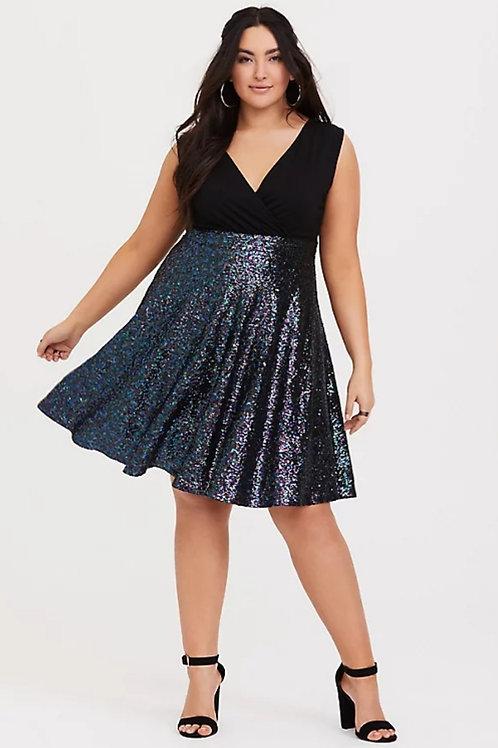 Brand new Torrid sequin dress sz 24