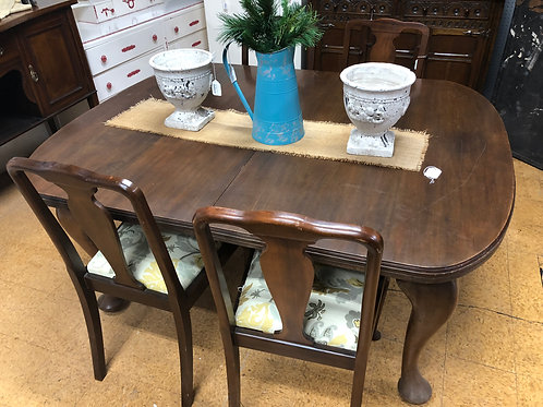 Antique Wind-Out Table